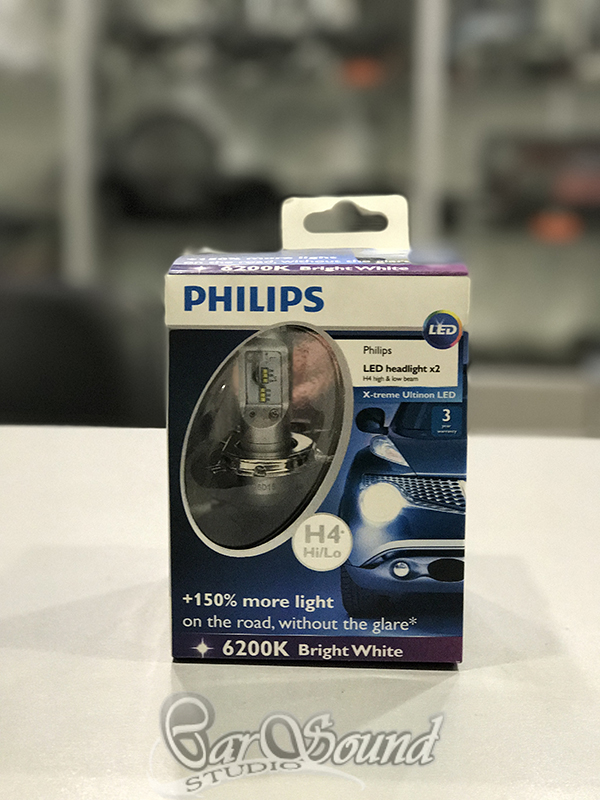 Philips X-treme Ultinon LED упаковка