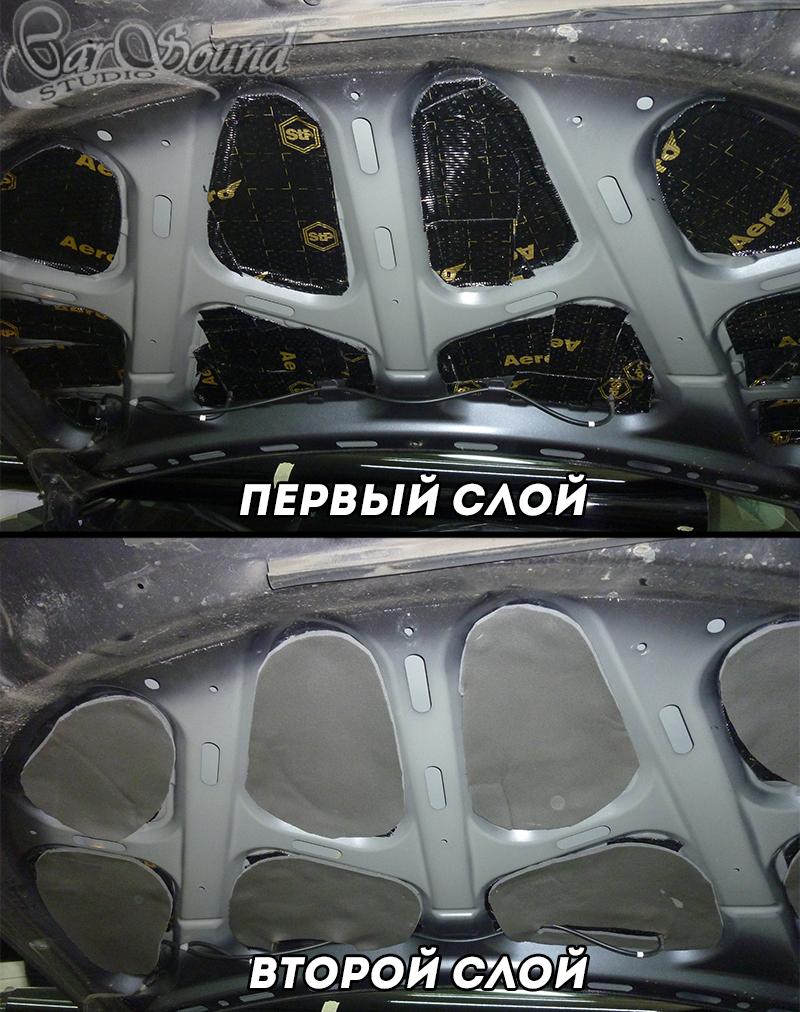 Шумоизоляция капота в Харькове